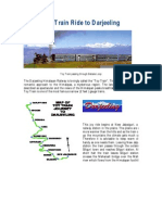 Toy Train Ride to Darjeeling