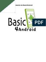 Instalacion de Basic4Android