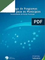 Catalogo Programas Federais