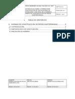 Capitulo 6 Normas de Construccion de Redes Subterraneas