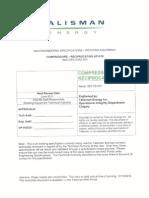 Compressor- Reciprocating API 618-1