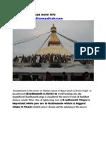 Boudhanath Stupa in Nepal