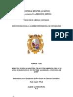 PLAN DE TESIS - Auditoría Ambiental final