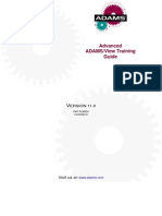 Advanced ADAMS/View Training  Guide