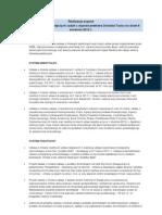 Stan realizacji najważniejszych zadań z exposé premiera Donalda Tuska na dzień 6 września 2012 r.