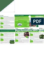CEDREAC Plan Formativo 2012_2013