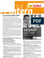 CDU intern September 2012