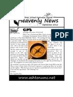 September Heavenly News