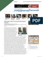 2.9.2012, 'Dalle Ville Ai Video. Un Secolo Di Idee Firmate Vucetich', Il Giornale Di Vicenza