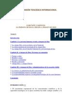 Comisión Teológica Internacional - [2004] Comunión y servicio La persona humana creada a imagen de Dios
