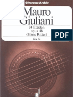 Mauro Giuliani - 24 Estudios, Op. 48