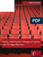 Web Content Management for Higher Education by TERMINALFOUR