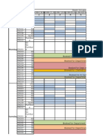 MTech PhD Time Table Aug Dec 2012 27-08-2012