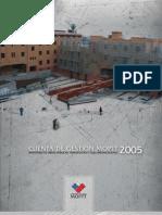Chile Obras Publicas Transporte Telecomunicaciones Informe Gestion MOPTT 2005