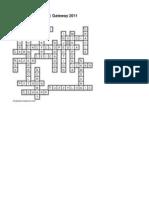 Crossword Prelims _ Gateway 2011_Key