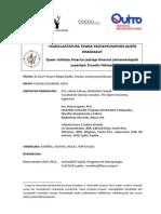CFP Coloquio Queer Ecuador KICHWA Descripción