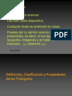 Definicic3b3n Clasificacic3b3n y Propiedades de Los Tric3a1ngulos1
