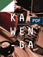 Kawenga /// programme 2nd semestre 2012
