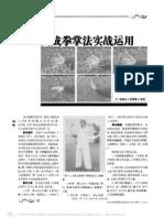 Dachengquan Zhangfa Shizhan Yingyong.Zhao Zhenyong