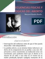 Consecuencias Fisicas y Psicologicas Del Aborto