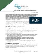 ICH GCP 21 CFR PART 11 Compliance Statement (5)