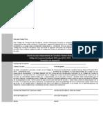 Formulario de Aceptación de Código de Conducta Estudantil 2012-2013