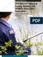 2011 National Survey of Fishing, Hunting, and Wildlife Recreation