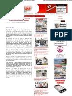 07-09-12 Iniciaron Trabajos Para Mejorar El Transporte en Nayarit