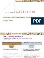 Inflation/Deflation -  Everything you want to know about inflation in simple terms