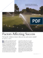 Factors Affecting Success