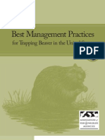 Best Management Practices for Trapping Beaver in the United States