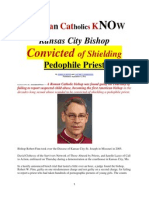 Do RC's know ONE Pedofile Priest was FINALLY Convicted?