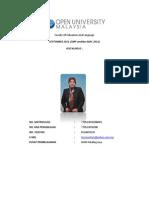 Laporan Aktiviti Kokurikulum - BSMM - Noraini Awang-770522036280