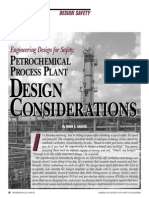 Chemcial - Design Considerations for Petrochemical Plant - ASSE Article