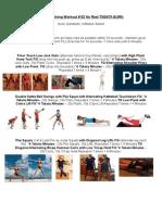 Circuit Training Workout # 62 No Rest Tabata Burn