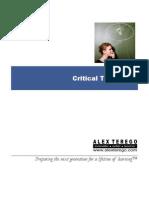 ePrimer - Critical Thinking