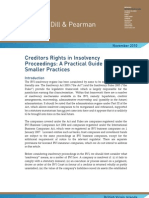 Creditors Rights in Insolvency Proceedings
