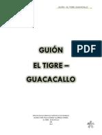 GUIÓN EL TIGRE