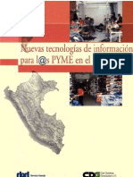Nuevas Tecnologías de Información  Para PYM3
