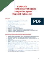 Panduan Gugat Cerai Di Pengadilan Agama Republik Indonesia