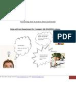 Driving Test Statistics Sliced and Diced DVLA 2011 2012