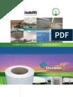 Laminado Poliéster Steeliner para el Recubrimiento de la Industria Carrocera Stabilit