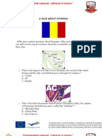 A Quiz About Romania