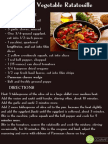 Fall Vegetable Ratatouille