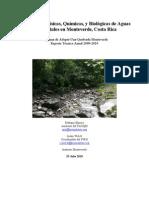 Informe Tecnico 2009-2010 Monteverde Adopte-Una-Quebrada
