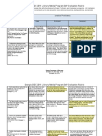 Rubric for Evaluating Facilities