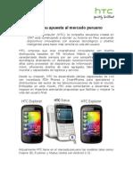 HTC y su apuesta al mercado peruano