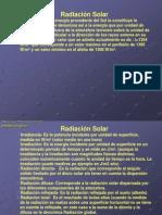 Radiación instrumental meteorologico