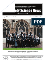 Fire Safety Science News No. 33, Aug 2012