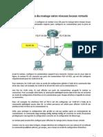 Configuration du routage entre réseaux locaux virtuels